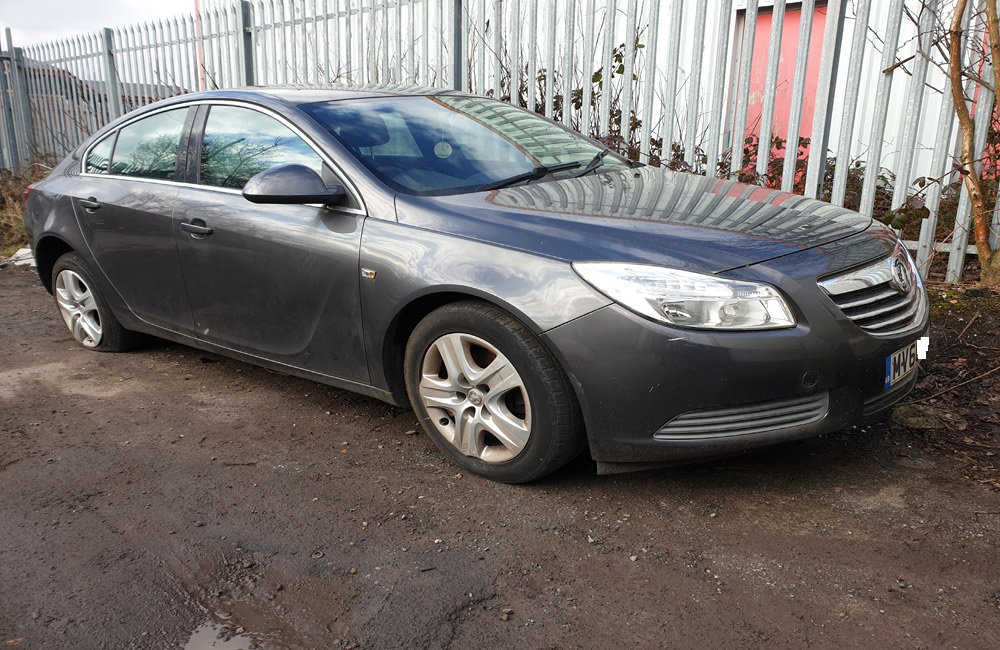 Vauxhall Insignia Exclusiv CDTI Shock absorber driver side rear