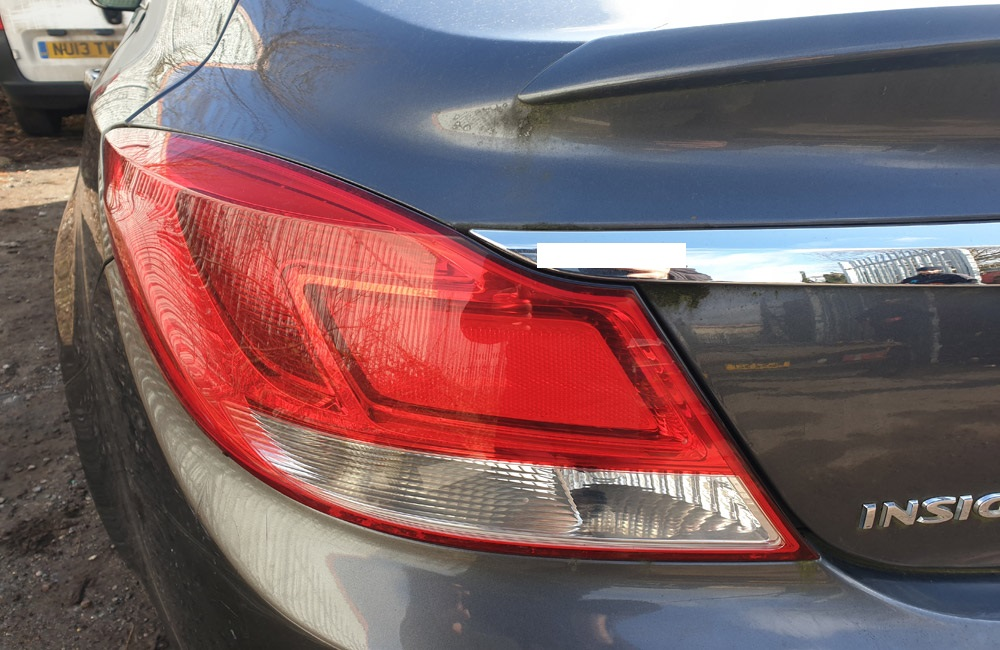 Vauxhall Insignia Exclusiv CDTI Rear Tail Light Passengers