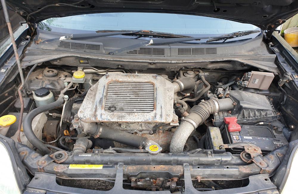 Nissan X-Trail Breaking Spares Parts T30 Sport TD Black KH3 YD22ETI