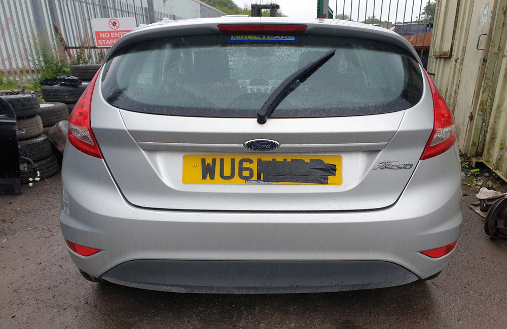 Ford Fiesta Breaking Spares Parts Style MK7 1.2 Petrol Silver 2011-2017